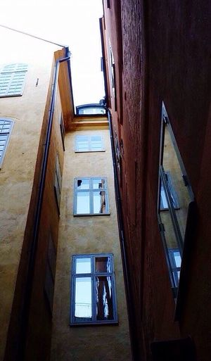 Architecture Building Exterior Built Structure Low Angle View House Window No People Residential Building Sky Outdoors Day