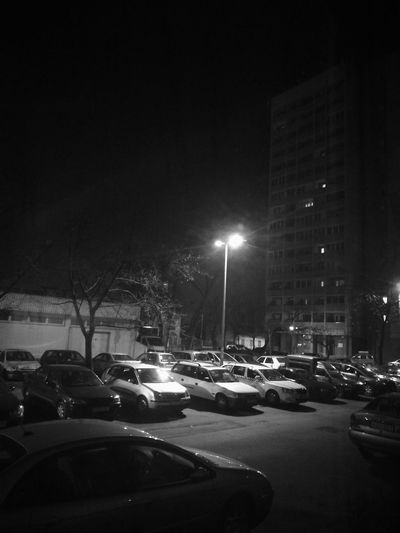 Outdoors No People Street Light Car Night City Darkness And Light