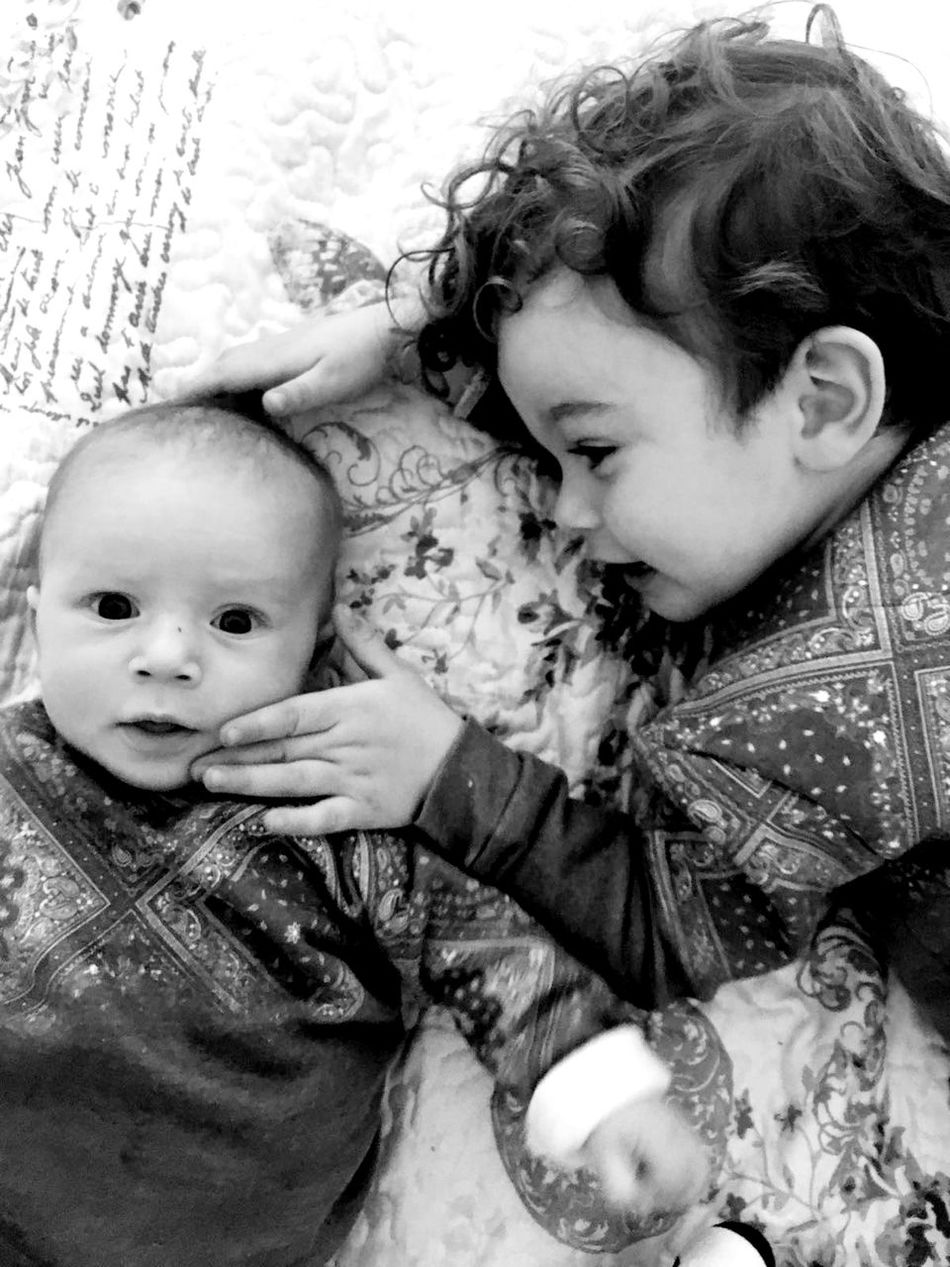 Babyhood Close-up Childhood Bonding Togetherness Two People Cute Baby Love Real People Cousins