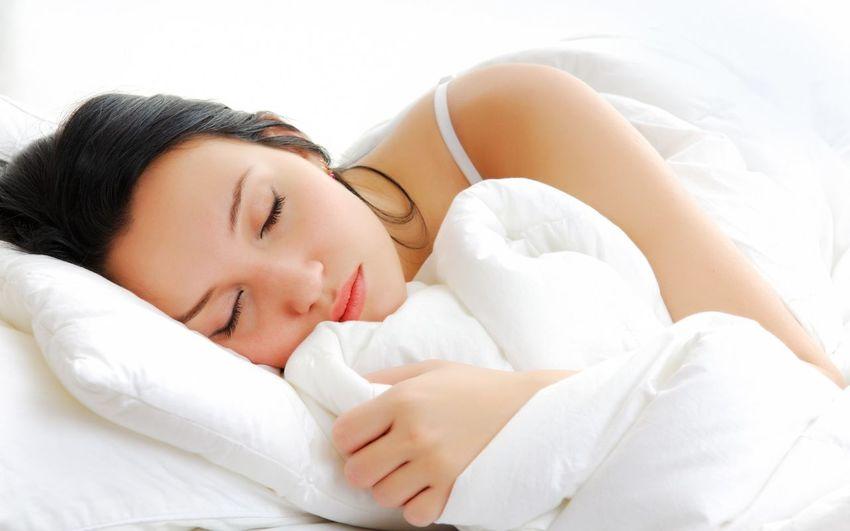 Relaxing Beauty Sleeping Model