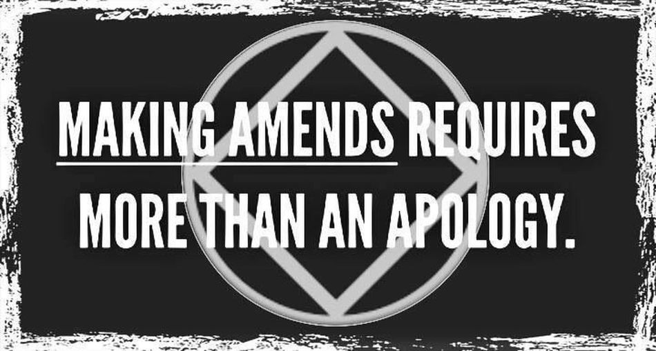Making amends requires more than an apology. Quotes Lifeasweknowit EyeEm Doncorpus