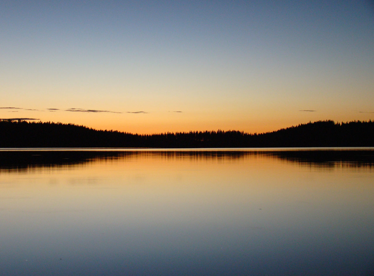 Sunset lake Saima in Southern Finland Finland Finland Summer Finlandia River View Saimaa Saíma Sunset Suomi Tranquility Water Reflections