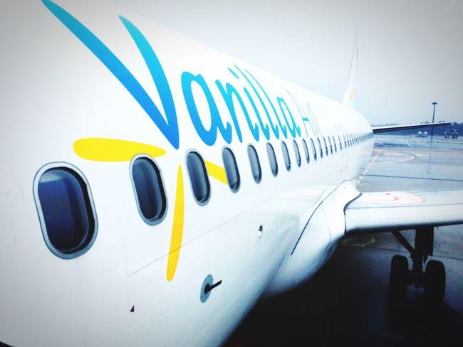 Vanilla Air Airplane Airport Narita NARITAAIRPORT Japan Chiba Window Windows White