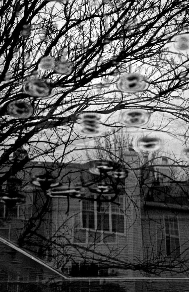 Johnleephotography Canont3i Water Rain Brokenglassart Brokenmirrorart Monochrome AngleDown SummerStorm2014 Reflectioning Virginia Creepy Precipitation
