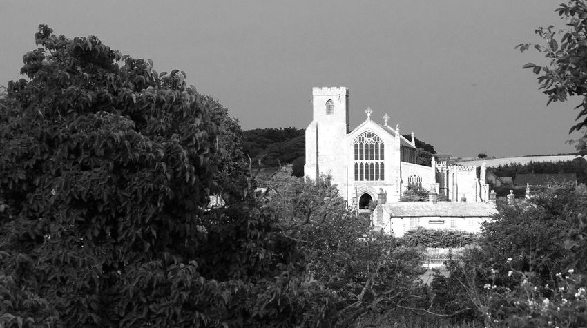 Saint Margaret's Church, Cley-next-the-Sea, Norfolk Black And White Architecture Chuches Norfolk