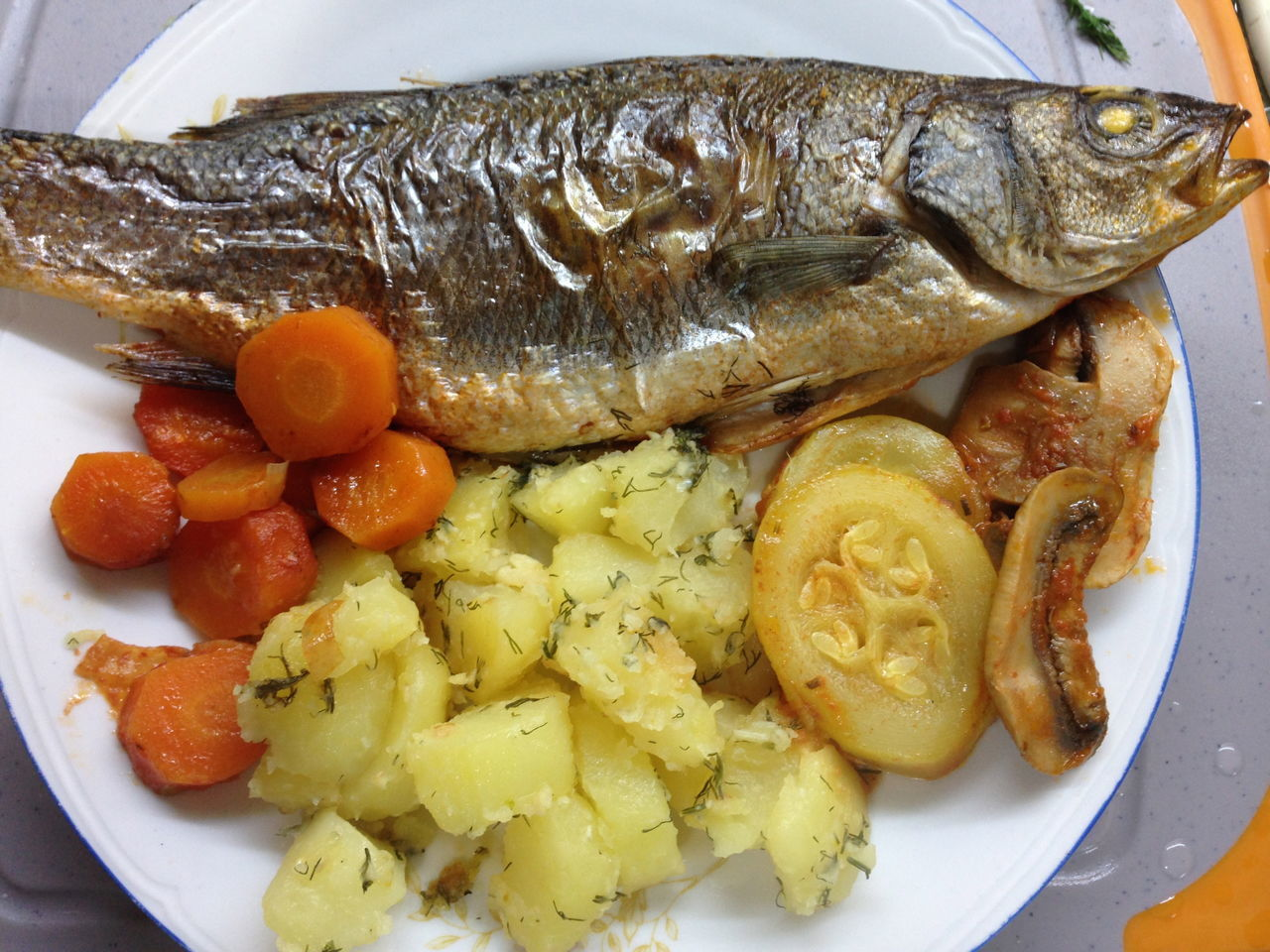 Close-up Day Fish Food Food And Drink Freshness Healthy Eating Indoors  No People Plate Ready-to-eat