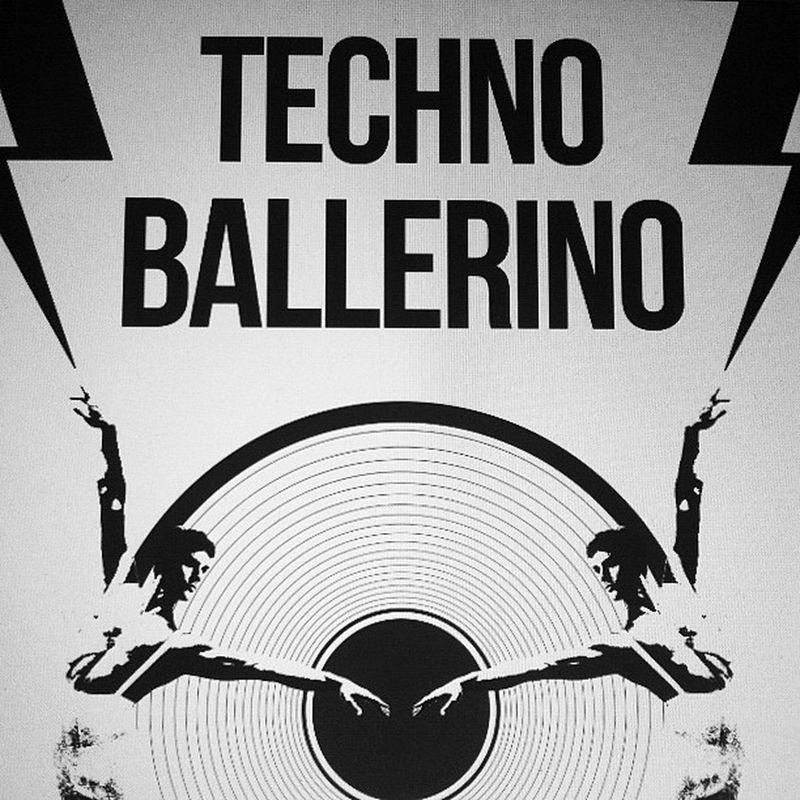 Techno Ballerino Bw Wip Berlin Brescia Chicago Danza Music Electronica Dance Ballerino London NY Illustration Design Culture Tribute Techno Personal Typo Detroit