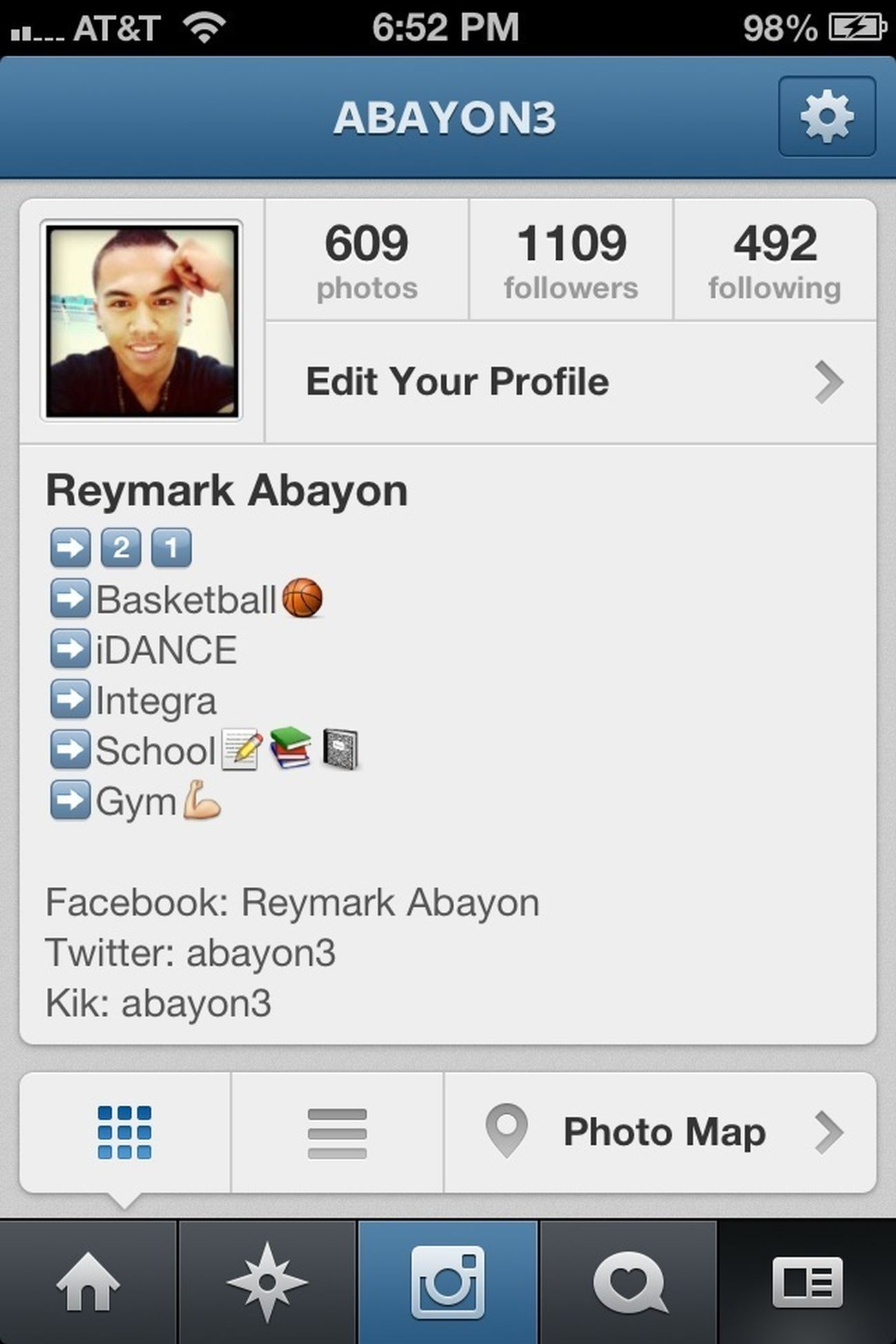 Follow me on Instagram!! @abayon3