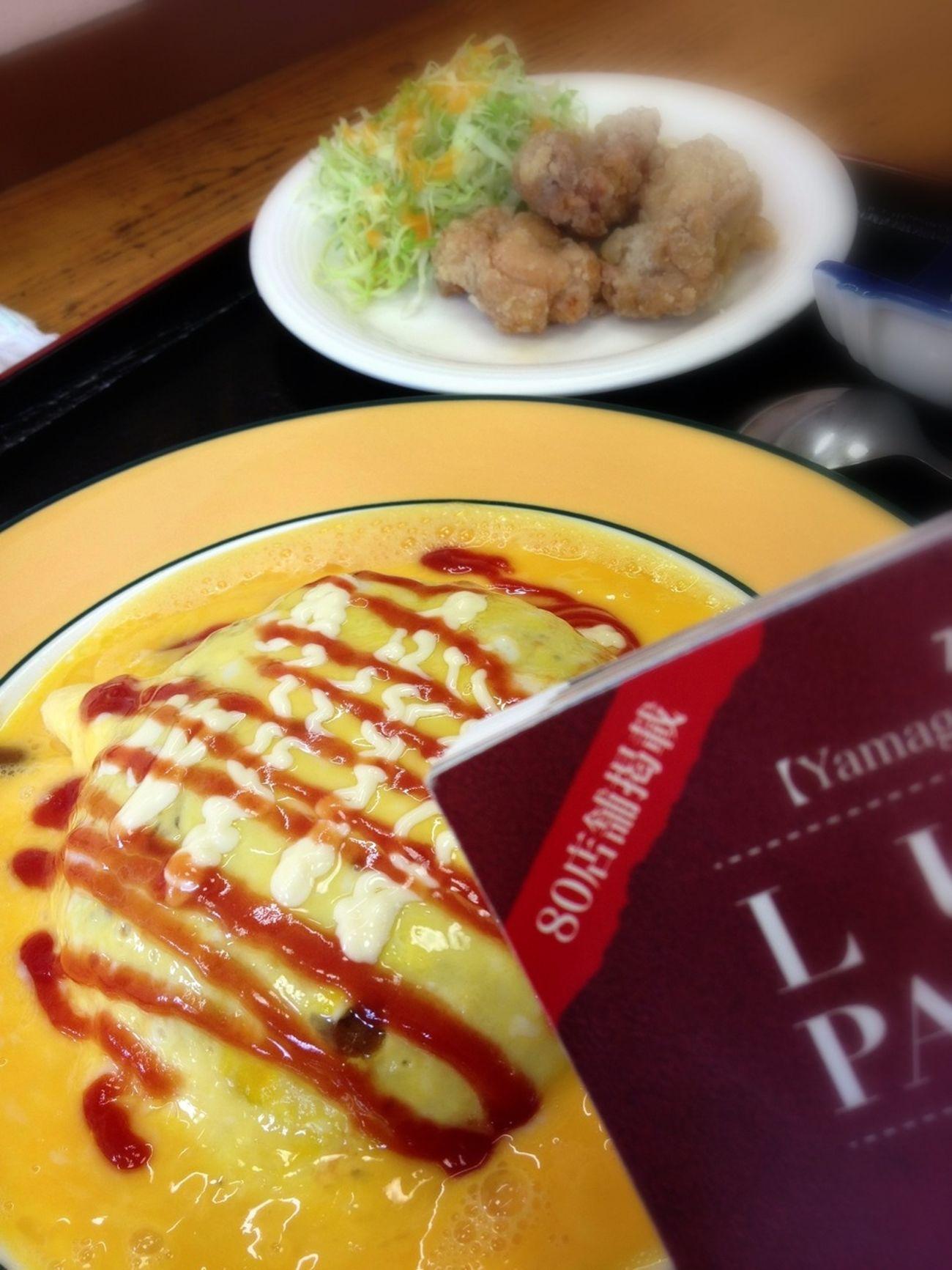 かくれんぼ からあげ。ランパスで950円相当→500円♪ IPhoneography Lunch Passport