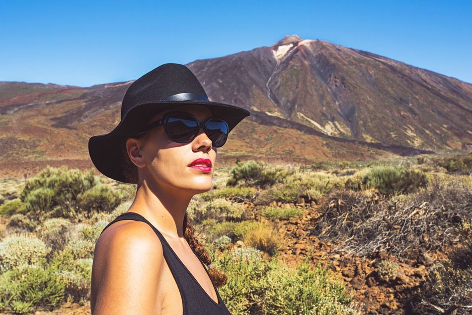 Beautiful stock photos of volcano, 30-34 Years, Caucasian Ethnicity, Day, Focus On Foreground