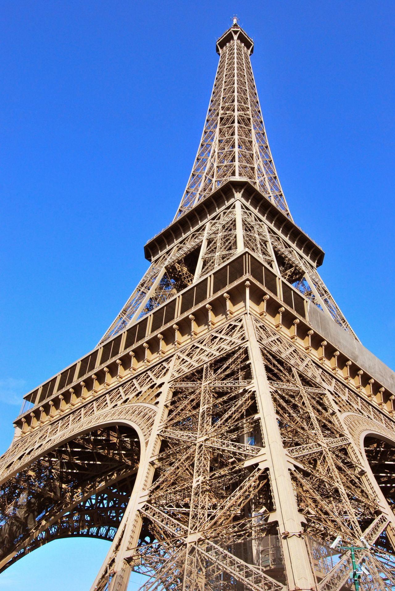Eiffel tower Architecture Blue Building Exterior Built Structure City Clear Sky Cultures Day History Low Angle View Monument No People Outdoors Sky Tourism Tower Travel Destinations