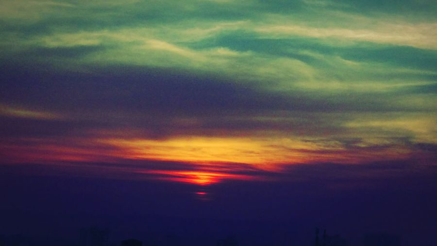 Shades Of The Sky Morning Dawn Beauty In Nature Morning Peace