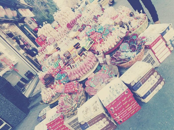Sweet Food takein in Damascus  No People High Angle View Have A Nice Day♥ Hopeyoulike 😄