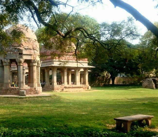 Hauzkhas Hauzkhasvillage DelhiGram Fort Nature Peace Mustvisit