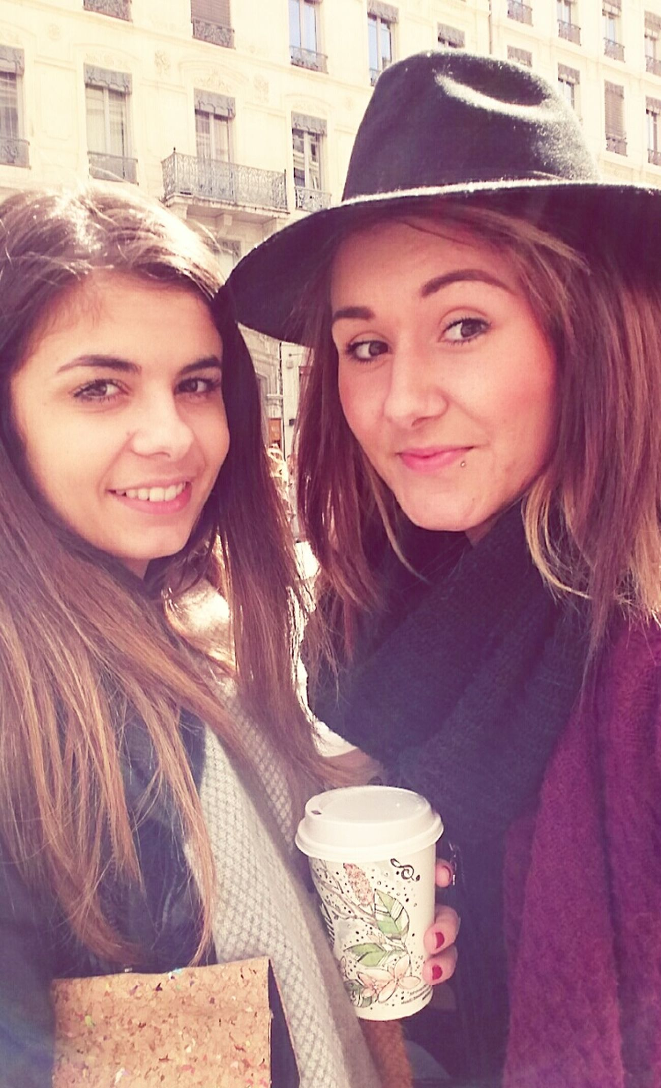Friend Shopping Lyon Girlymoments Friendship. ♡   Be Yourself Starbucks Goodmoment Eyeem Picture Love ♥ The Only Moment Where I Think At Nothing..