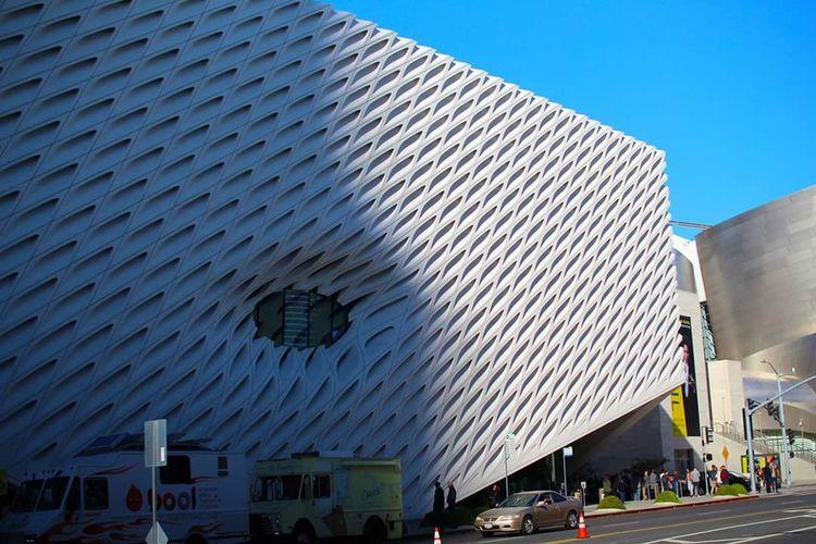 The Broad, Los Angeles, California Architecture Architecture_collection Art Gallery California DowntownLA La Los Angeles, California Modern Modern Architecture Museum The Broad