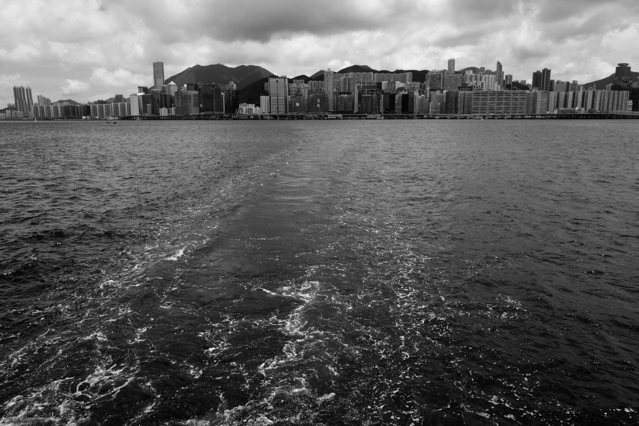 small cruise Transportation City Life Crowd From My Point Of View Art Is Everywhere Discoverhongkong Cityscape Shadows & Lights Walking Around Monochrome Blackandwhite Lifestyles Ferry
