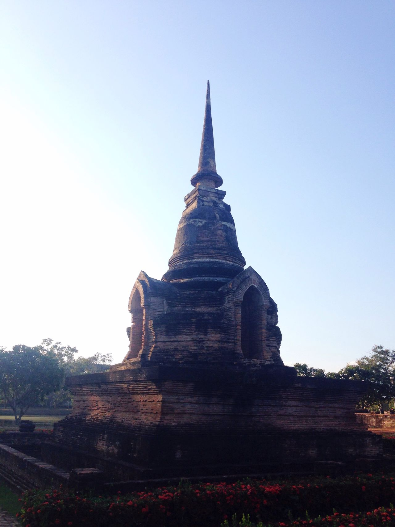 Religion Place Of Worship Travel Destinations Spirituality Sukhothai Sukhothaihistoricalpark Travel Traveling Architecture History Ancient Built Structure No People Outdoors Nature Cultures Tree Day Sky