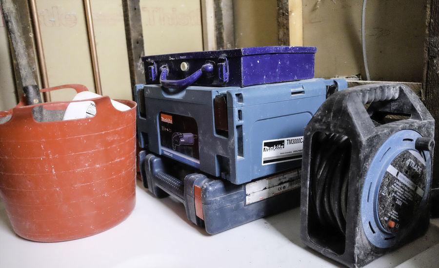 Blue No People Plumber Plumbing Repairing Repairs Tool Tool Kit Toolbox Tools