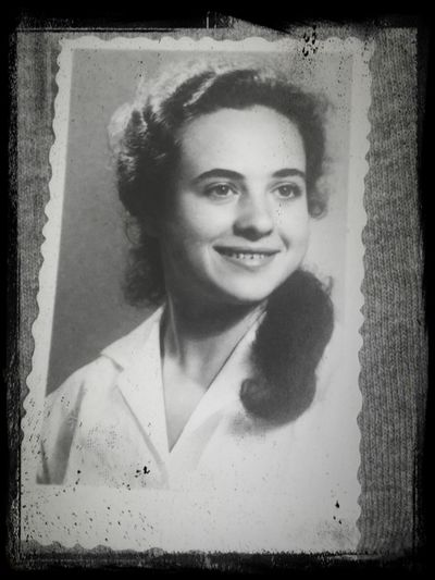 RePicture Femininity my mom 50 years ago. A young spirit at the age of 76, strong women with wisdom and compassion