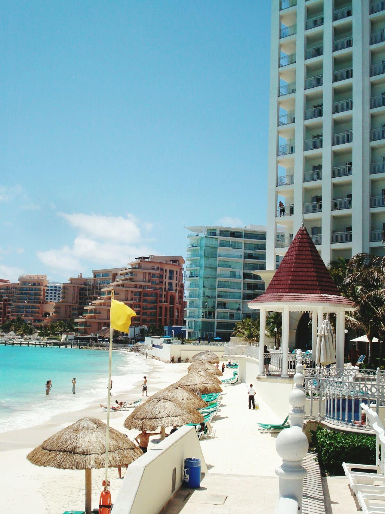 Beautiful stock photos of mexiko,  Beach,  Building Exterior,  Built Structure,  City