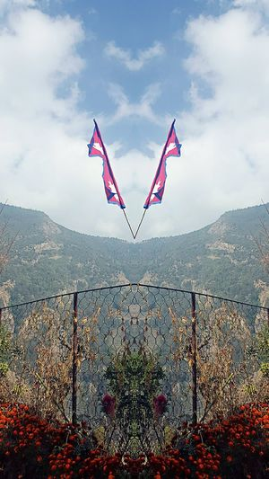 Nepal Nepal #travel Nepaliflag