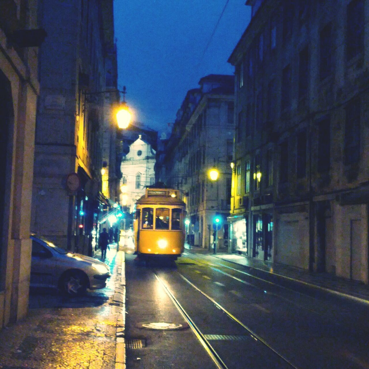 My ride is here. Urban Landscape Public Transport Electrico Lisboa