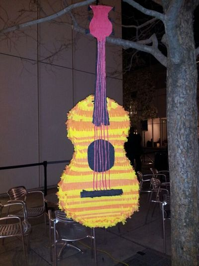 Hanging Out Guitar Piñatas Frida Kahlo