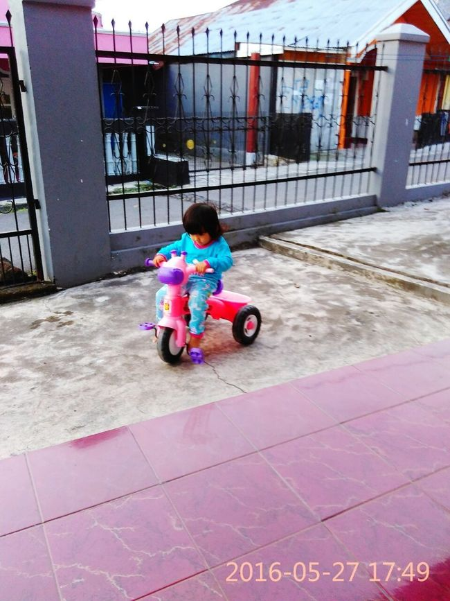 Kring...kring.... Bycicle Selfie , Happy :) , My Little Girl