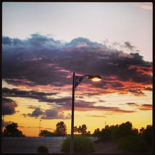Dogpark Azsunsets Sunsets Skies clouds arizona sunset