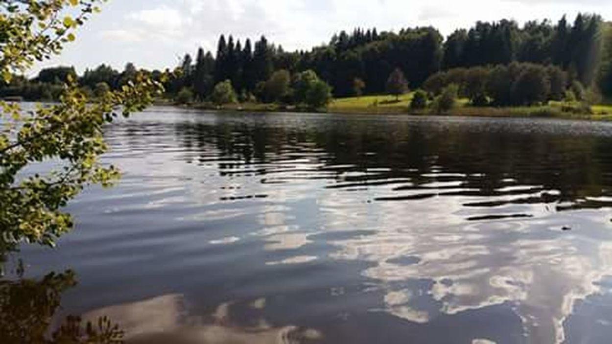 Stausee Wasser Reflexion Water Nature