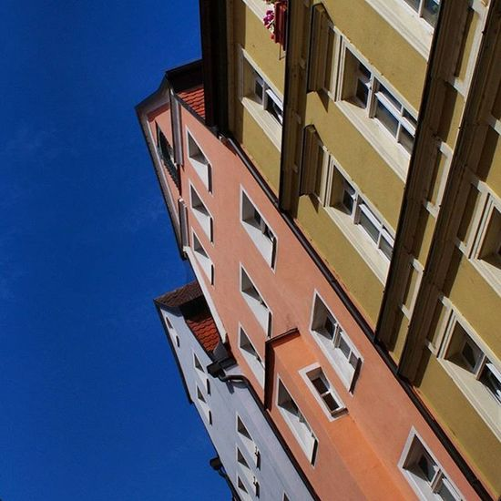 Beautiful Colorfull Architecture and Design . near the Citycenter . Regensburg Germany Deutschland . Taken by my Sonyalpha DSLR Dslt A57 . تصميم معمار ريجنزبرغ المانيا