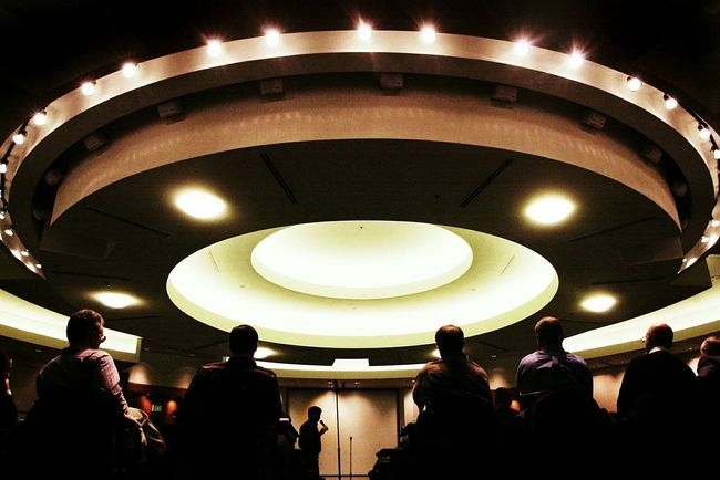 Meeting room. Shaping The Future. Together. Meetings Meeting Room Graphic Darkness And Light Leadership Lights Decisions Being Made Board BoardRoom Circle Abstract Monochrome