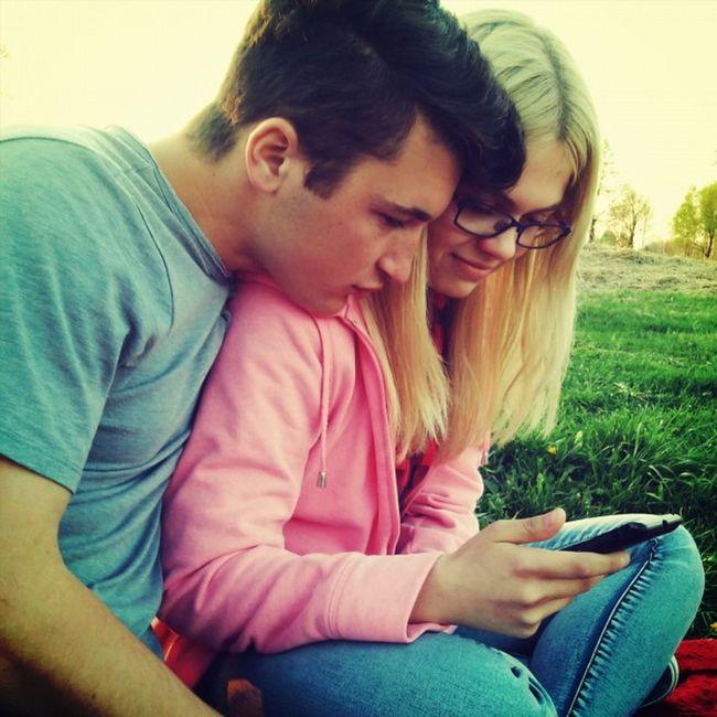 Iza Girlfriend Couple Love biglove blondyneczka_moja przejazdzka_rowerem piknik_po_rowerkach