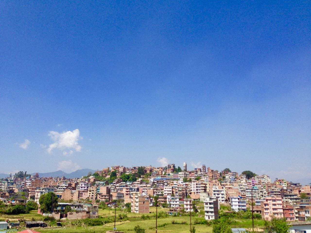 I Love My City Kirtipur Taking Photos Iphonography Nepal