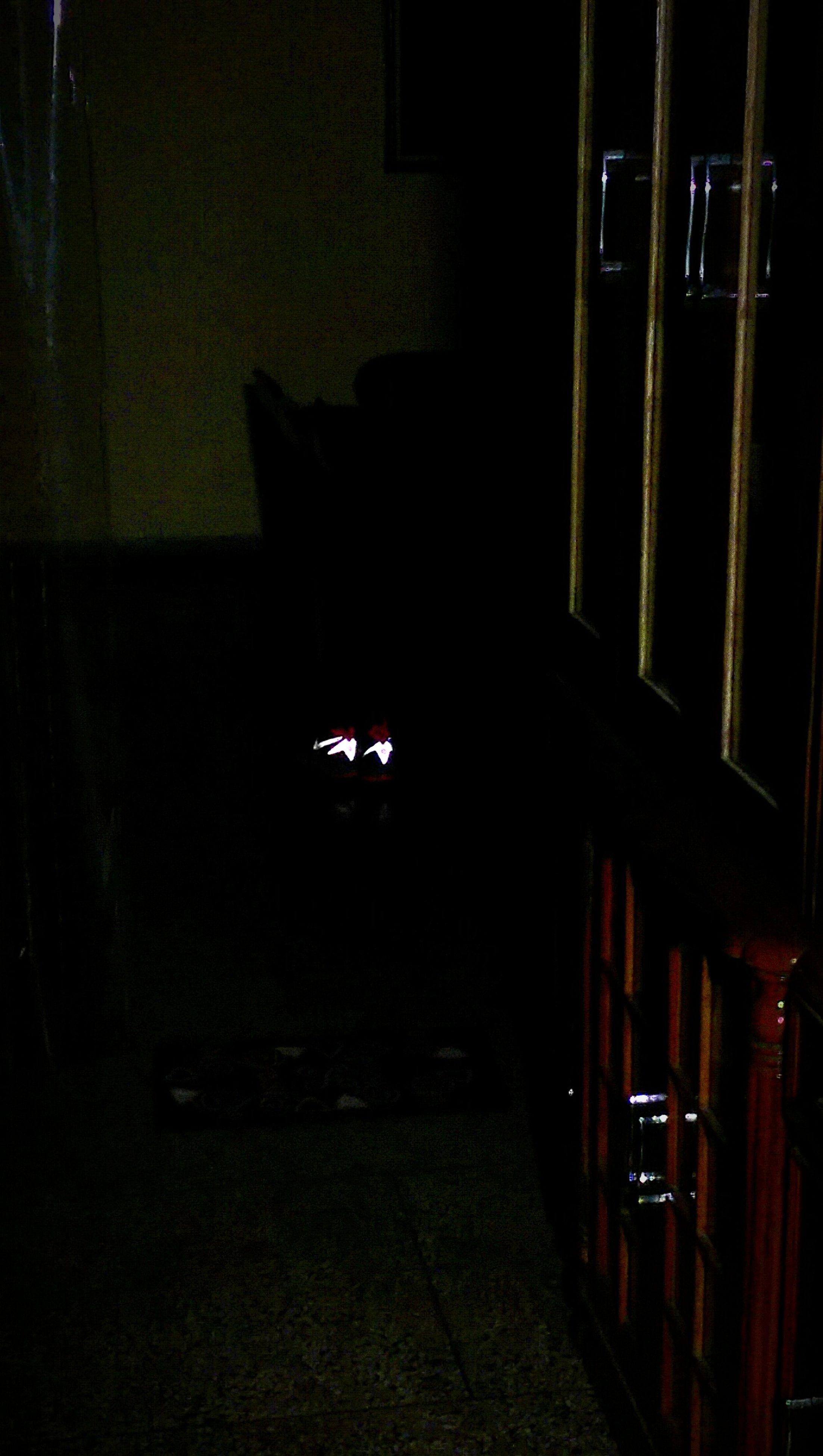 indoors, night, illuminated, dark, window, home interior, built structure, house, architecture, lighting equipment, room, shadow, darkroom, chair, no people, table, absence, domestic room, silhouette, light - natural phenomenon