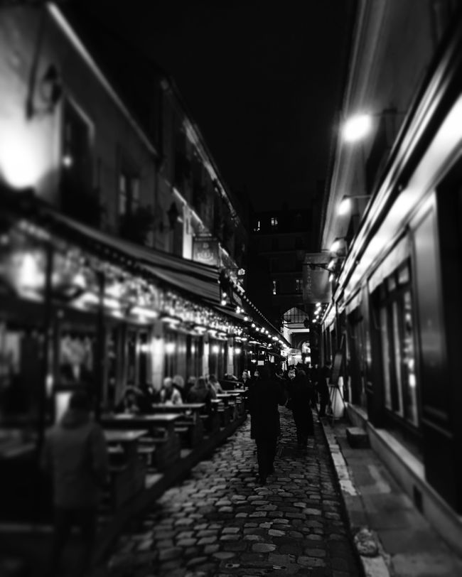 Paris Odeon Saint Germain Saint Andre Des Arts Passage Lights And Shadows People In Transit Walking Around VilleLumière Architecture