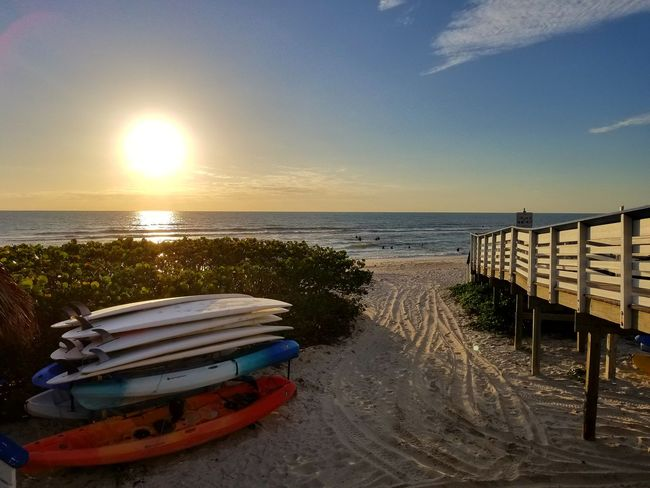 Beach Sea Sand Water Horizon Over Water Tranquility Nautical Vessel Vacations Sky Nature Sunlight Beauty In Nature Naples, FL Tranquility Tranquil Scene Outdoors Scenics Day