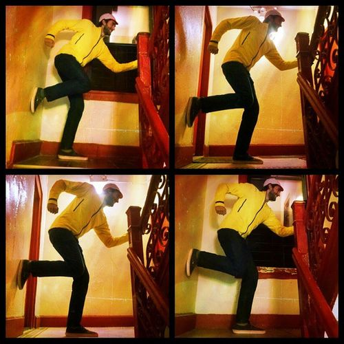 TheRunningMan outtakes, stairwell edition.