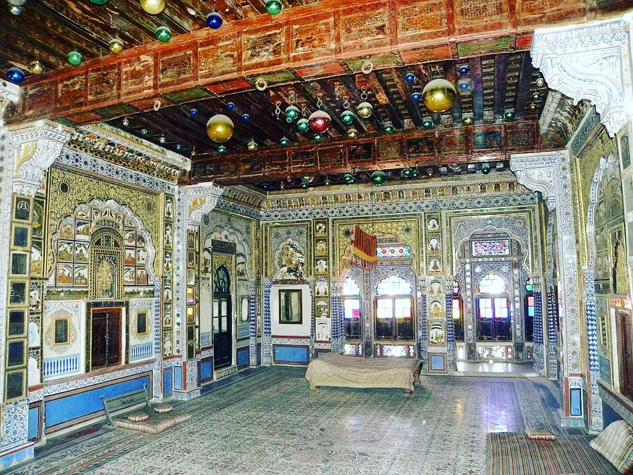 Mehrangar Fort, Indoors  Architecture Built Structure Architectural Feature Tourism Mehrangarh Mehrangarh Fort Rajasthan India Fort