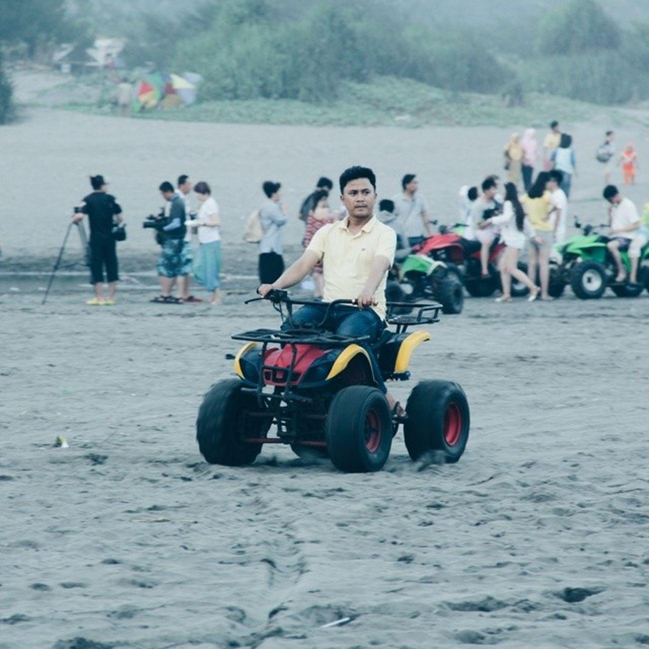 Bermain ATV. HB1 Travelingindonesia Vsco_id Explorejogja