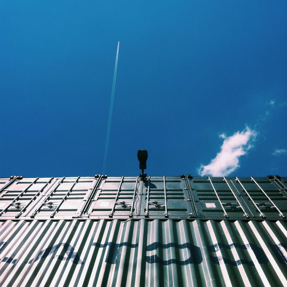 Beautiful stock photos of box, Blue, Cargo Container, Container, Copy Space