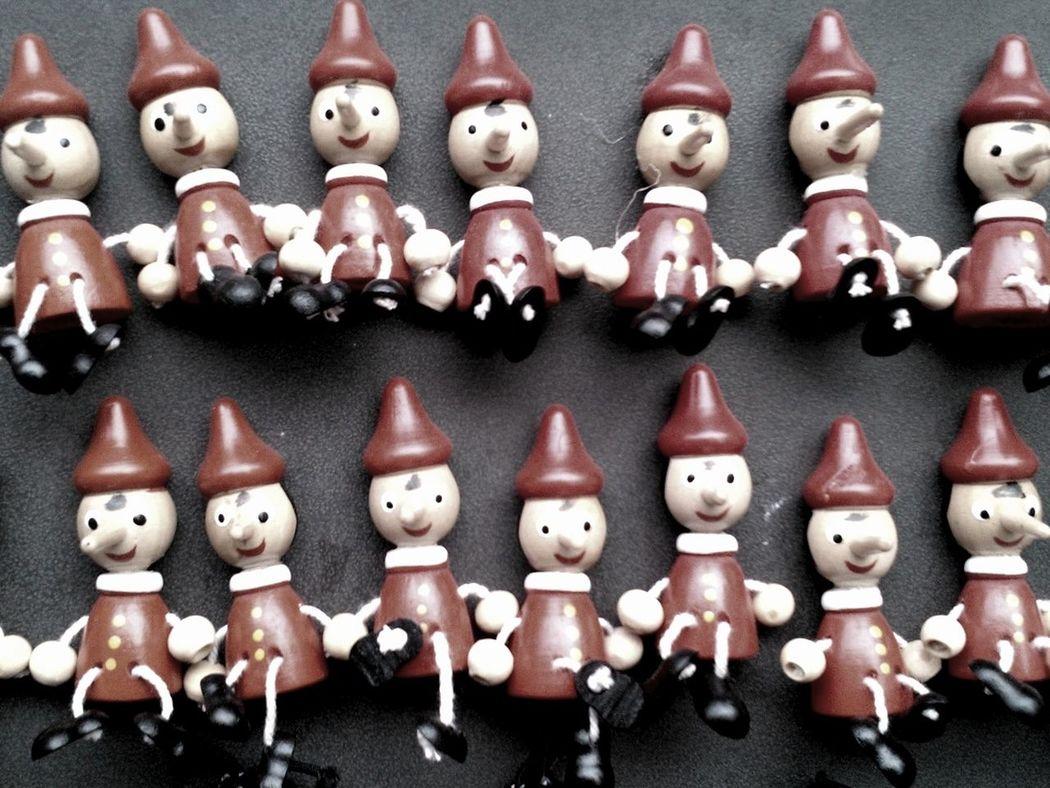 Taking Photos Pinocchio Series