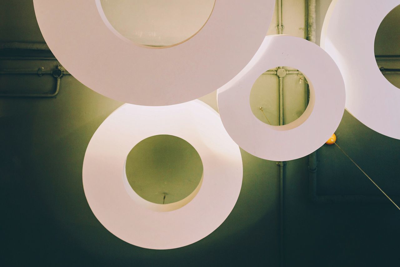 The OO Mission Circle Shapes Lookup Architecture Interior Design Interior Views Green Fine Art Photography