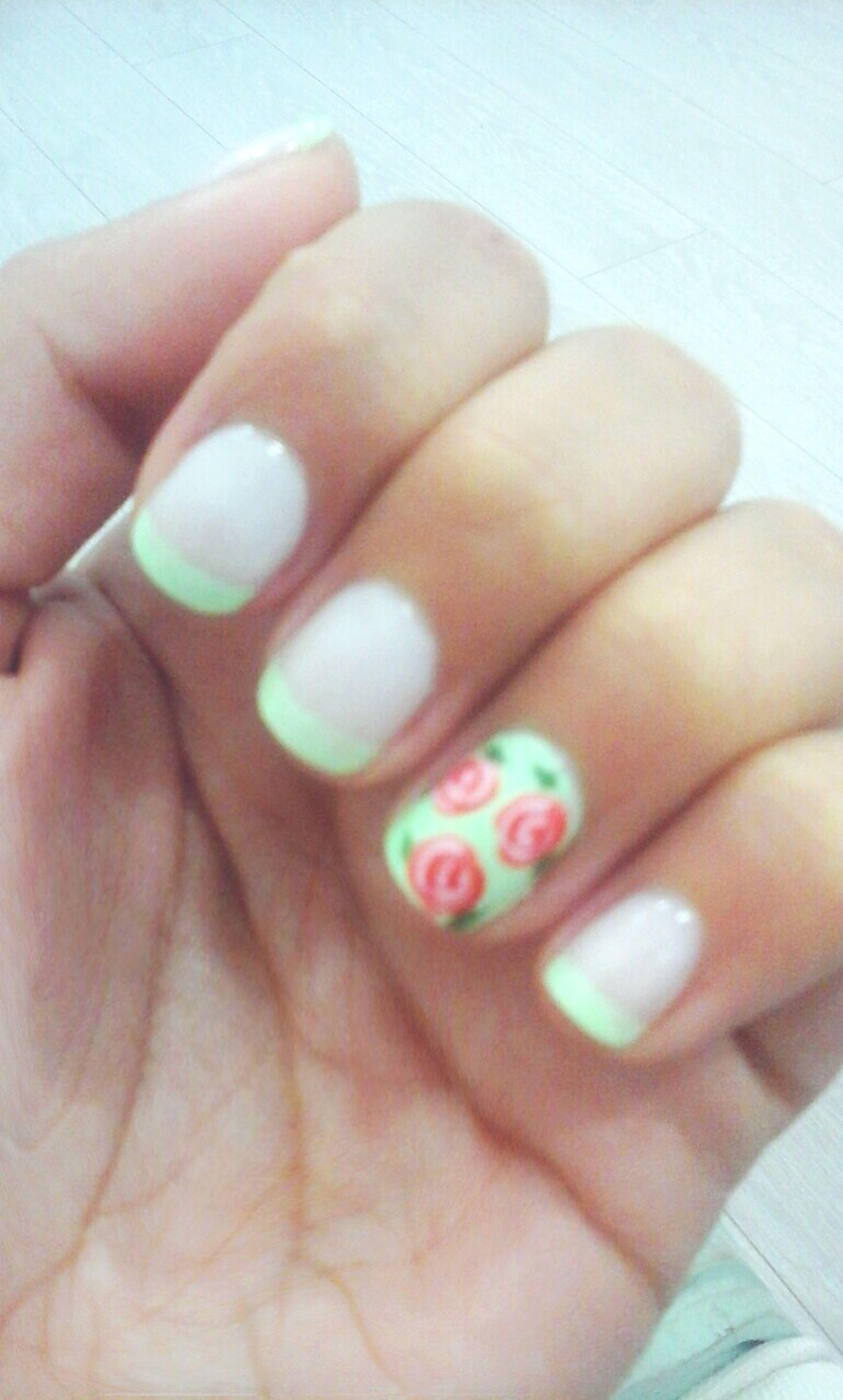 Dulce menta Love My Nails :*