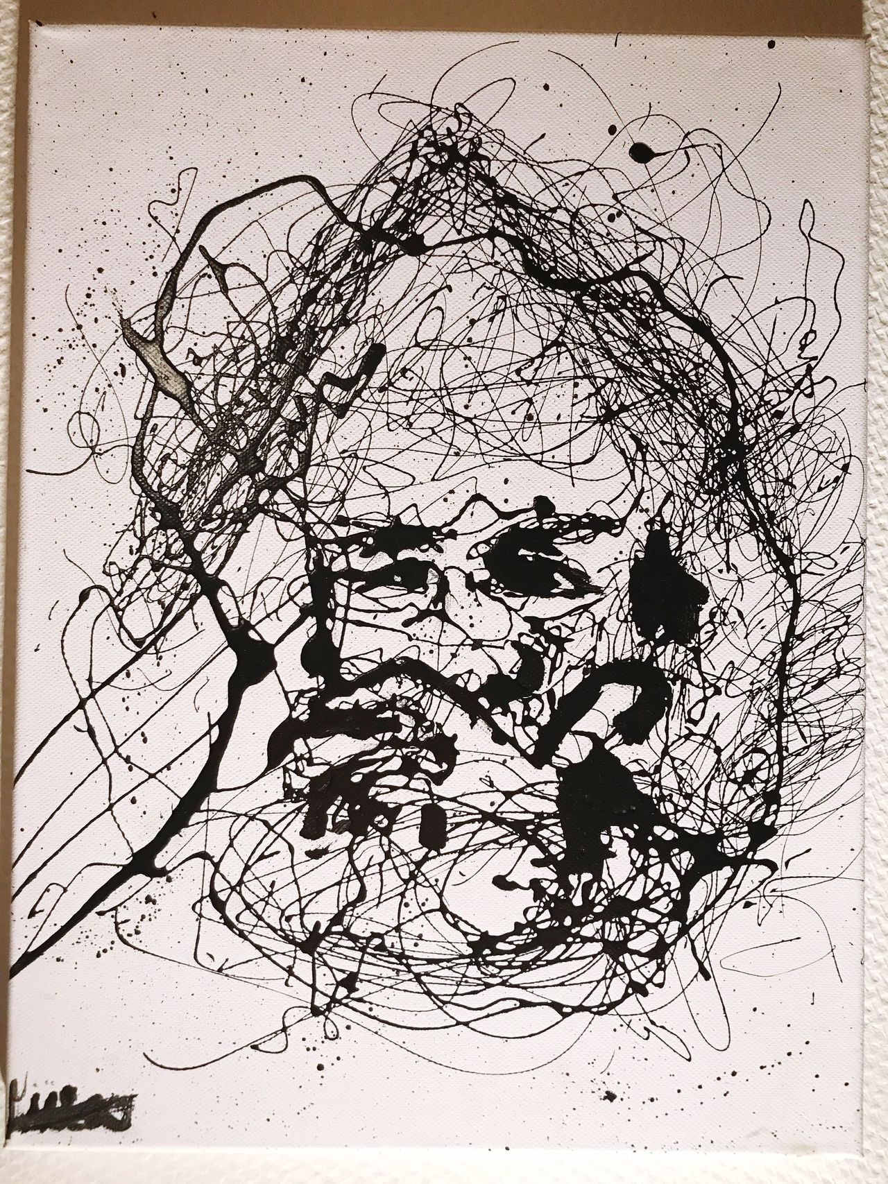 Abstract Pencil Drawing Sketch ArtWork Painting Blackandwhite Canvas Design Ink Shadow Imagination Memories Sketchbook First Eyeem Photo