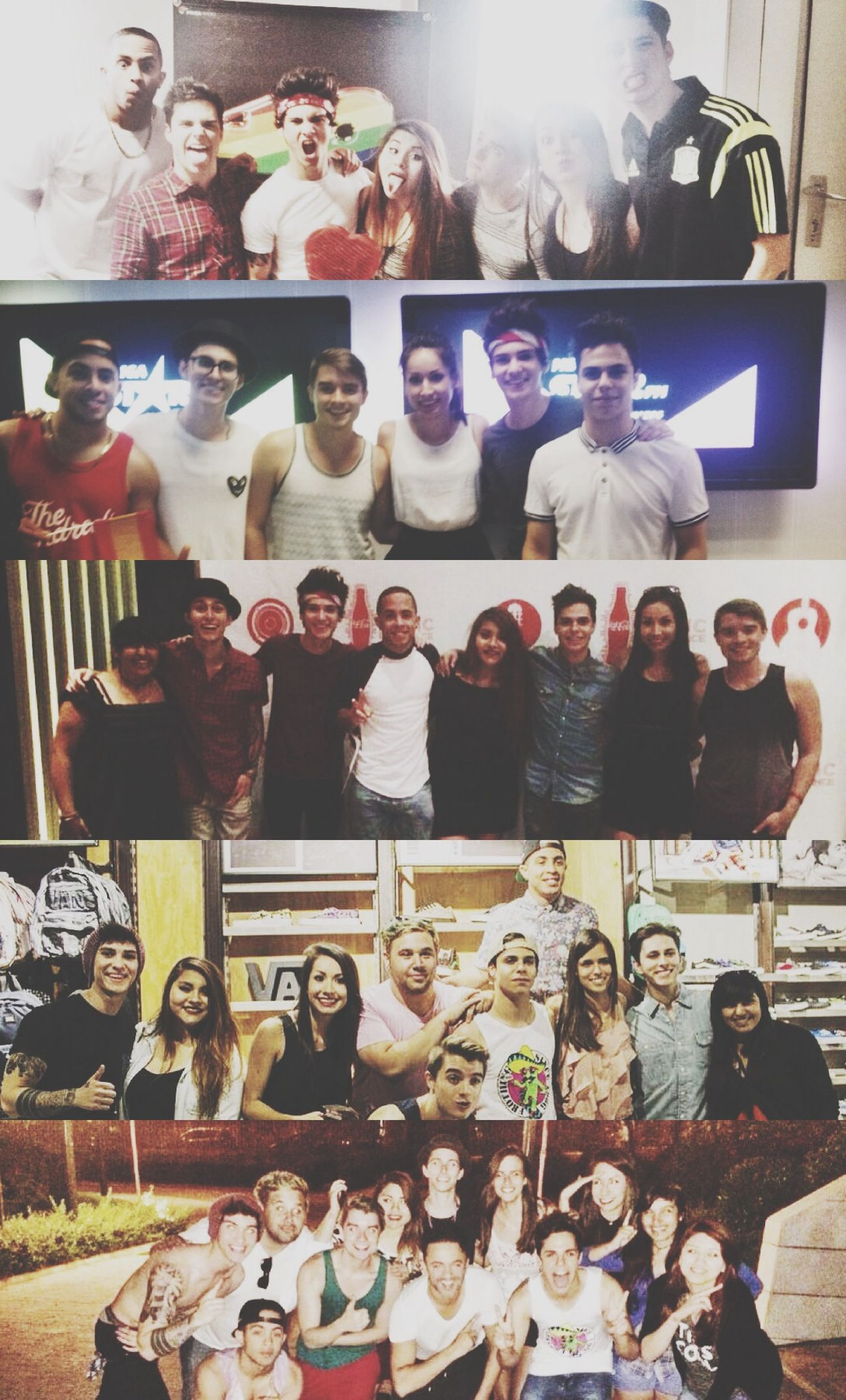Words cannot describe how much i love them MidnightRed Friends Madrid MeetAndGreet