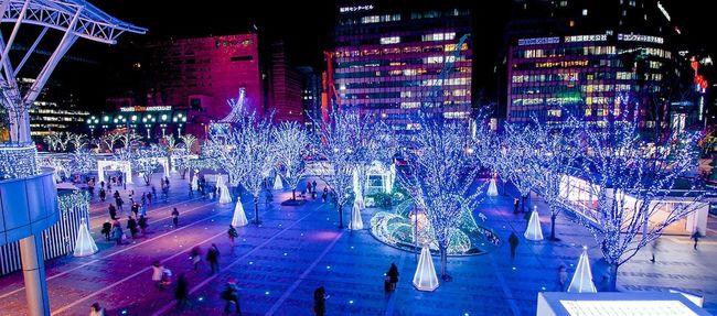 Hakata Station Christmas Illuminations Tadaa Christmas Lights Illumination Night Lights Station