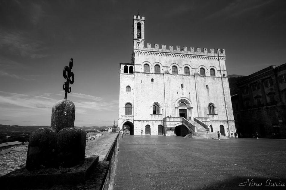 Gubbio Architecture Outdoors Blackandwhite Black & White Bianco&nero Gubbio, Perugia, Italy Canon550D Sigma10-20