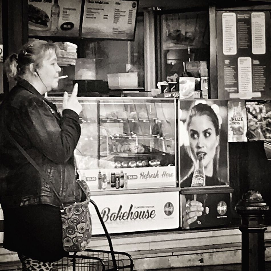 Streetphotography Blackandwhite Street Life Black & White Authentic Moments People Watching Mobilephotography Melbourne City Melbourne Streetphoto_bw